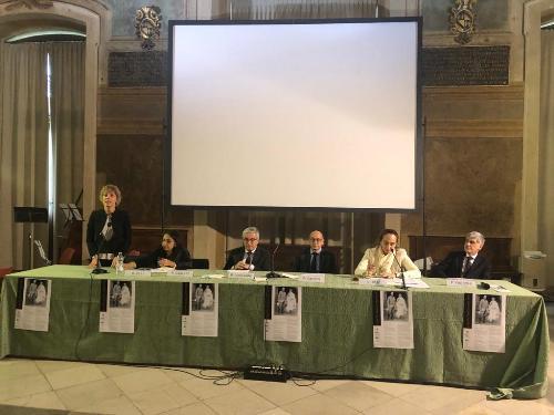 L'intervento dell'assessore regionale alle Finanze, Barbar Zilli, a Udine, al convegno su Pio Tessitori