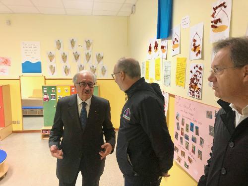 Il vicegovernatore FVG, Riccardo Riccardi, con il presidente della Scuola, Carlo Sacher