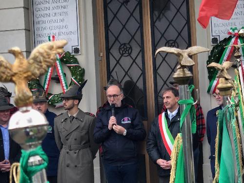 L'intervento del vicegovernatore, Riccardo Riccardi.