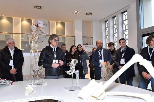 L'assessore regionale alle Attività produttive, Sergio Emidio Bini,  all'Open Factory di LimaCorporate.