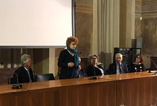 L'intervento dell'assessore Gibelli all'inaugurazione del nuovo allestimento della Galleria d'arte antica di Udine