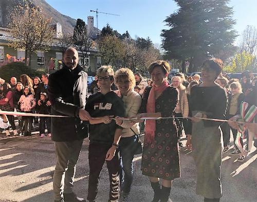 """Zilli all'inaugurazione del """"Progetto Presepio 2019"""" a Gemona"""