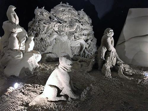 Il presepe di sabbia 2019