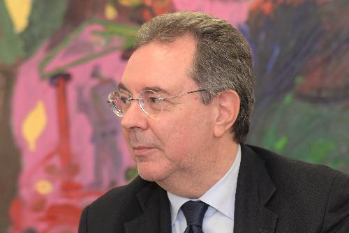 L'assessore regionale a Infrastrutture e Territorio, Graziano Pizzimenti