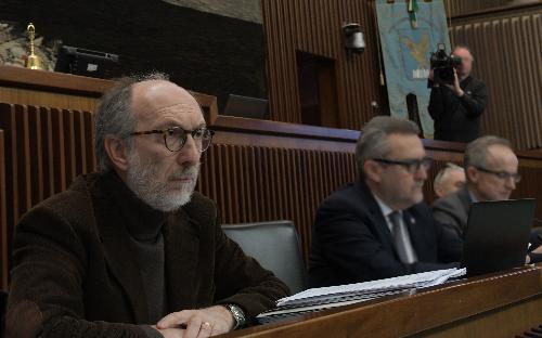 Il vicegovernatore del Friuli Venezia Giulia con delega a Salute e Protezione civile, Riccardo Riccardi