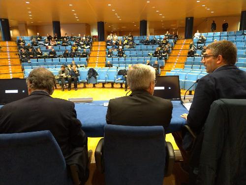 L'assessore Roberti interviene al convegno organizzato da Anvu a Udine