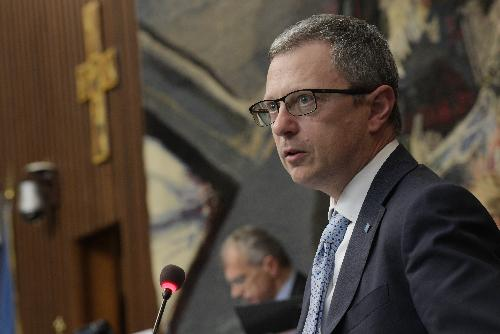 L'assessore regionale alle Risorse agroalimentari, forestali, ittiche e alla Montagna Stefano Zannier