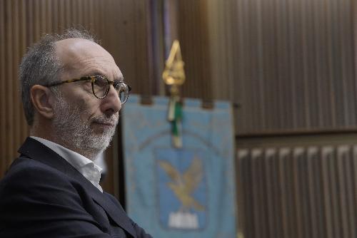 Il vicegovernatore del Friuli Venezia Giulia con delega a Politiche sociali e disabilità, Riccardo Riccardi
