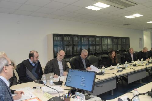 Il vicegovernatore Riccardi alla seduta del Cal a Udine
