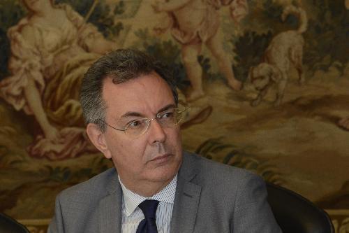 L'assessore regionale alle Infrastrutture e territorio Graziano Pizzimenti