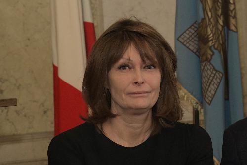L'assessore regionale alla Famiglia, Alessia Rosolen