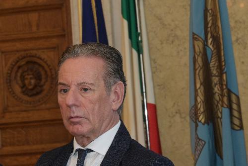L'assessore regionale alla Difesa dell'Ambiente, Energia e Sviluppo sostenibile, Fabio Scoccimarro