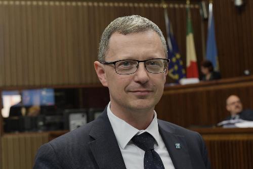 L'assessore regionale alle risorse agroalimentari, forestali e ittiche e alla montagna del Friuli Venezia Giulia, Stefano Zannier.