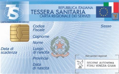La Tessera sanitaria-Carta regionale dei servizi (TS-CRS) del Friuli Venezia Giulia