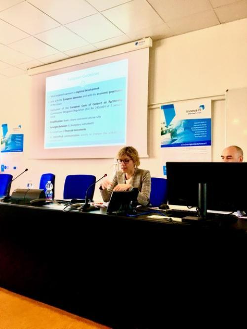 L'assessore regionale Zilli a Friuli Innovazione a Udine.