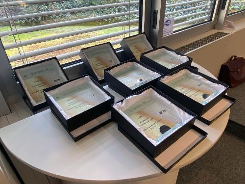 I riconoscimenti assegnati alle aziende aderenti al progetto e premiate a Pordenone