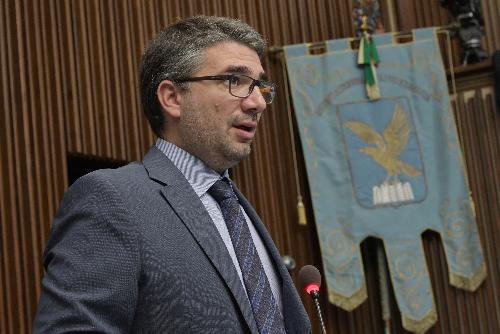 L'assessore alle Politiche dell'immigrazione del Friuli Venezia Giulia, Pierpaolo Roberti.