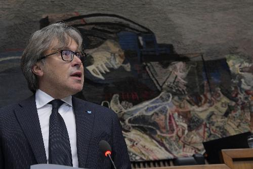 L'assessore regionale Sergio Emidio Bini