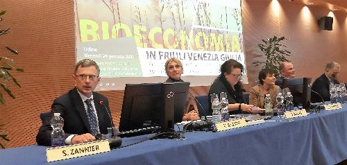L'assessore Zannier al convegno sulla Bioeconomia a Udine