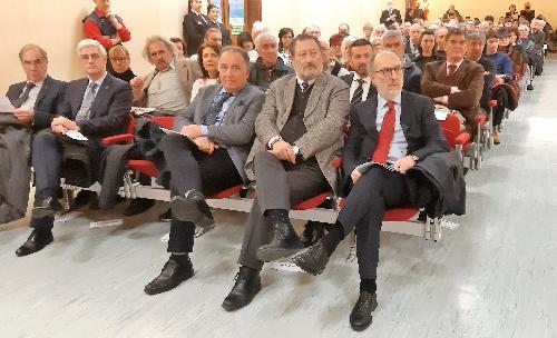 Il vice governatore della Regione, con delega alla Salute, Riccardo Riccardi, alla Giornata della Riconoscenza organizzata dall'Ado Fvg - Udine, 25 gennaio 2019