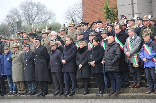 L'assessore regionale Zilli alla cerimonia in ricordo della battaglia di Nikolajewka nel Sacrario di Cargnacco (Ud)