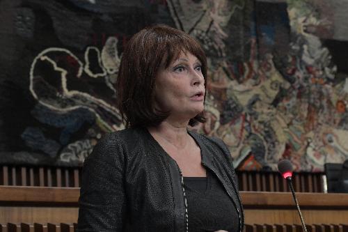 Alessia Rosolen, assessore regionale Lavoro, Formazione, Istruzione, Ricerca, Università e Famiglia