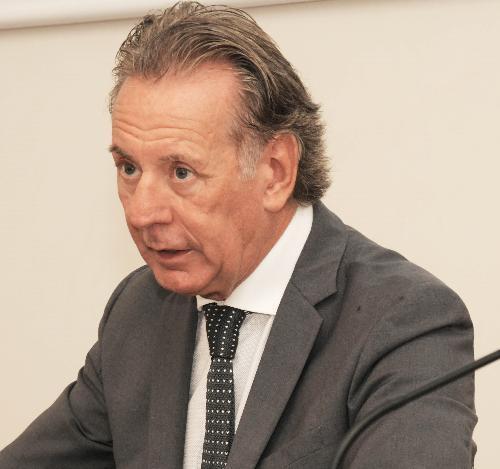 L'assessore Fabio Scoccimarro