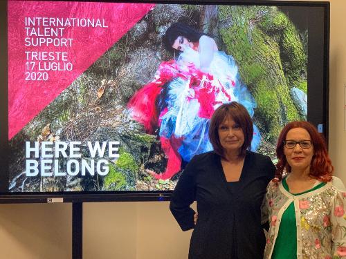 L'assessore regionale al Lavoro e Formazione Alessia Rosolen insieme alla fondatrice e direttrice di Its, Barbara Franchin