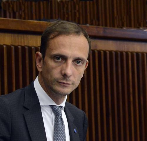 Il governatore del Friuli Venezia Giulia, Massimiliano Fedriga