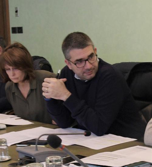 L'assessore regionale alle Autonomie locali, Pierpaolo Roberti, in una foto d'archivio