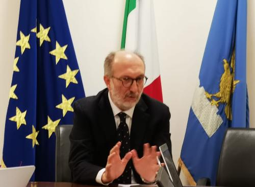 Il vicegovernatore Riccardo Riccardi