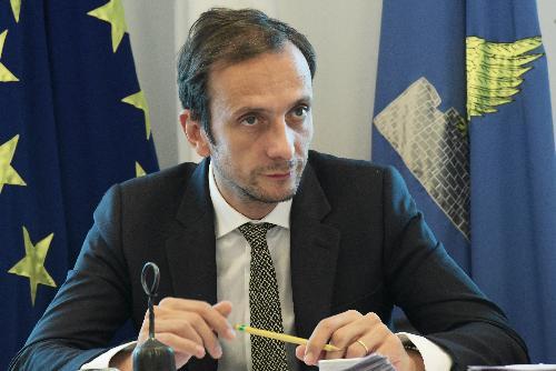 Il governatore del Fvg Massimiliano Fedriga