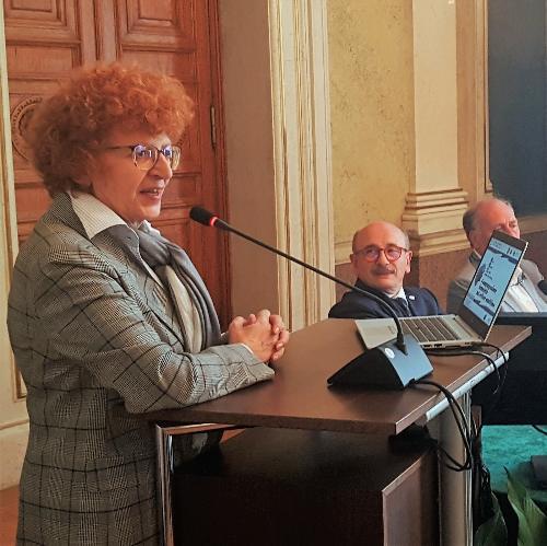 L'assessore regionale allo Sport e alla Cultura, Tiziana Gibelli, in una foto d'archivio