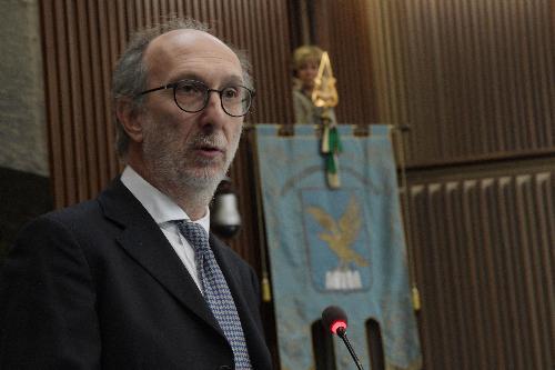 Il vicegovernatore del Friuli Venezia Giulia con delega alla Salute e alla Protezione civile, Riccardo Riccardi, in una foto d'archivio