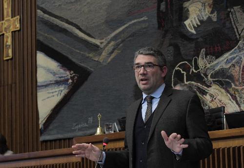 L'assessore regionale alla Sicurezza e Immigrazione, Pierpaolo Roberti, in una foto d'archivio