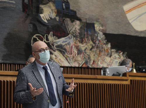 L'assessore regionale al Patrimonio, Demanio, Servizi generali e Sistemi informativi, Sebastiano Callari