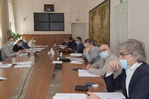 L'assessore regionale alle Attività produttive e Turismo Sergio Emidio Bini, in Giunta regionale