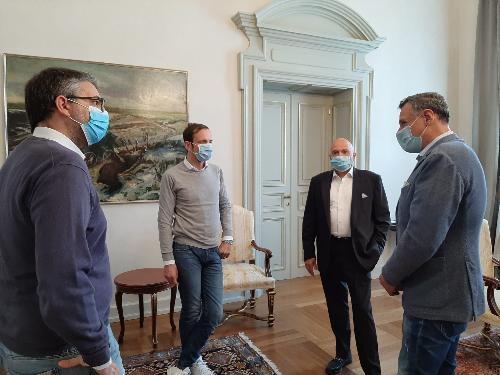 Fedriga, Roberti, Basso e Cicigoi