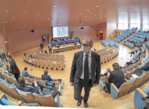 Il vicegovernatore del Friuli Venezia Giulia con delega alla Salute e alla Protezione civile, Riccardo Riccardi