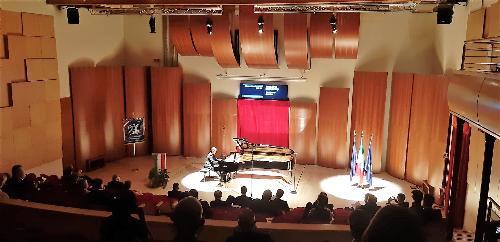 Il concerto nella Fazioli concert hall