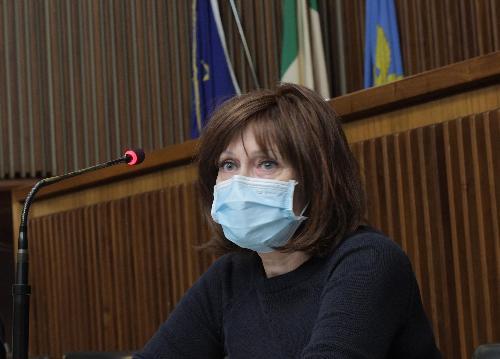 L'assessore regionale alla Ricerca Alessia Rosolen