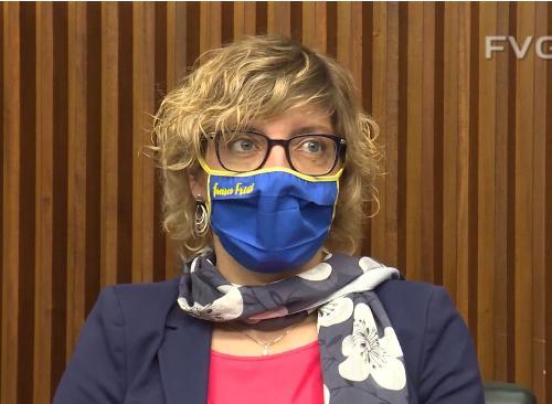 L'assessore alle Finanze del Friuli Venezia Giulia, Barbara Zilli
