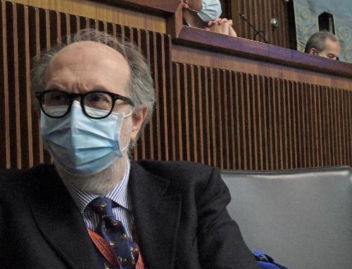Il vicegovernatore del Friuli Venezia Giulia con delega a Salute e Protezione civile Riccardo Riccardi