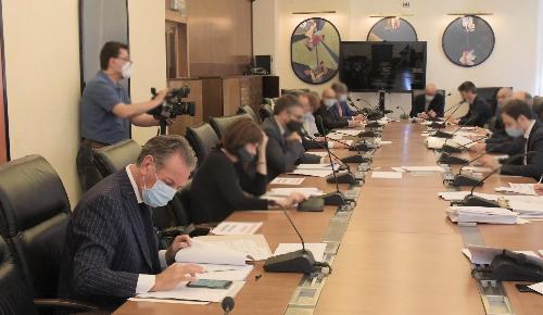 L'assessore regionale alla Difesa dell'Ambiente, Energia e Sviluppo sostenibile Fabio Scoccimarro