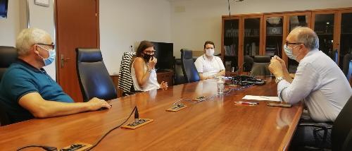 Il vicegovernatore Riccardi all'incontro con i rappresentanti dell'Avis Fvg