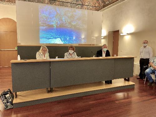 L'assessore Gibelli durante la presentazione dell'evento
