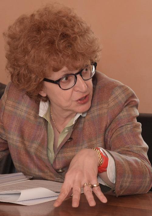 L'assessore regionale alla Cultura Tiziana Gibelli