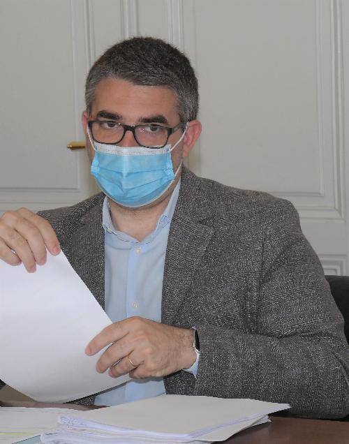 L'assessore regionale alle Lingue minoritarie Pierpaolo Roberti