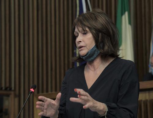 L'assessore regionale all'Istruzione del Friuli Venezia Giulia Alessia Rosolen in una foto d'archivio