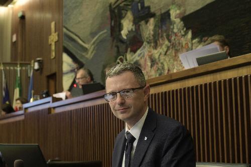 L'assessore regionale alle Risorse agroalimentari, Stefano Zannier, in una foto d'archivio